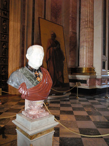 The bust of Auguste de Montferrand - builder of St.Isaac's Cathedral