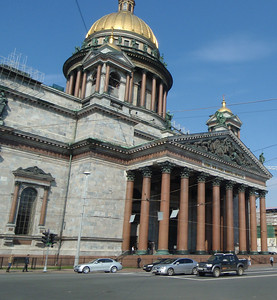St. Isaac's Cathedral - formerly the principal cathedral of the Russian capital