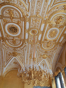 Ceiling in The Gold Drawing Room