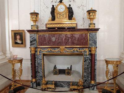 The White Hall Mantel Clock