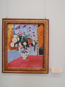 """Bouquet (Vase with Two Handles)"" by Henri Matisse"