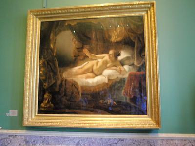 """Rembrandt """"Danae"""""""