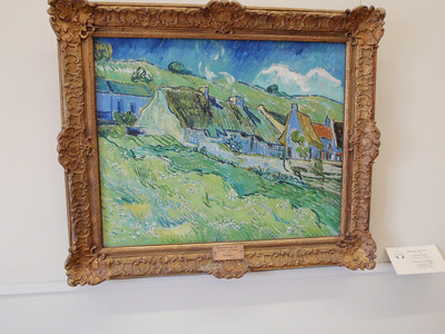 """Cottages"" by Vincent Van Gogh"