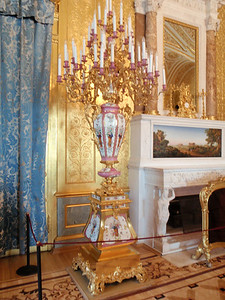 Chandelier in The Gold Drawing Room