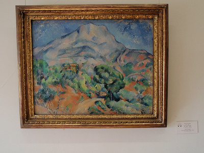 """Road Before the Mountains"" by Paul Cezanne"