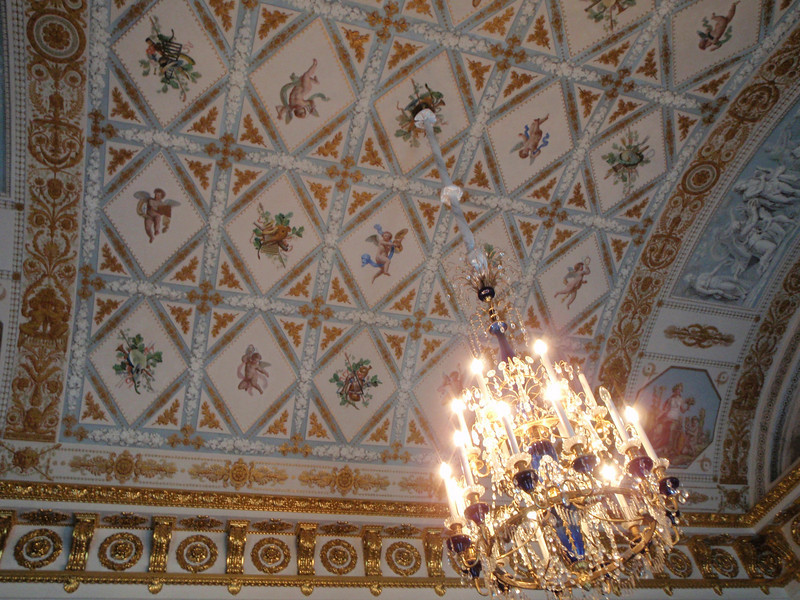 Another ornate ceiling