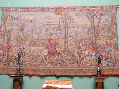 Detailed tapestry