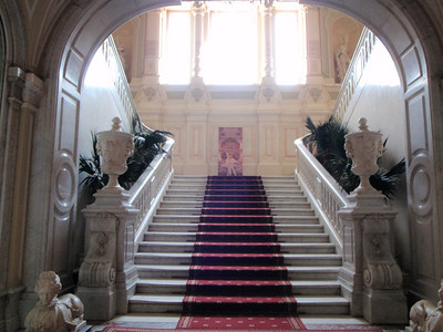 Entry staircase in the Yusupov Palace