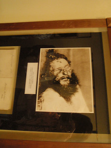 Photo of dead Rasputin. It turned out he drowned after being thrown in the river....not from being poisoned or shot!