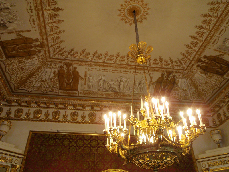 Ceiling in the Red Room
