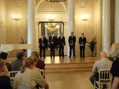 Concert by Russian singers in the Banquet Hall