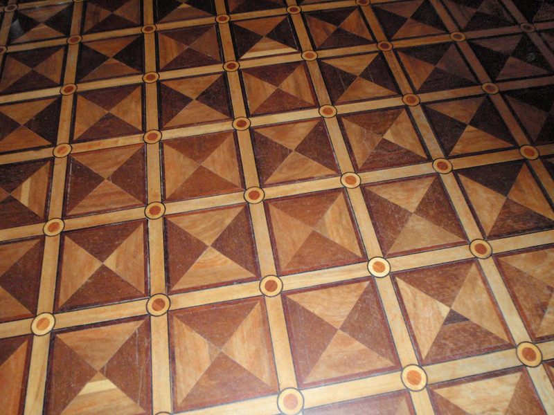 Floor in Oak Dining Room