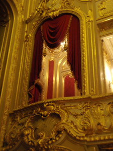 Private box in Palace Theater