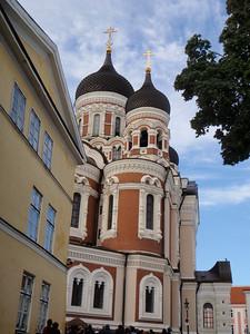 Approaching Alexander Nevsky Catherdral