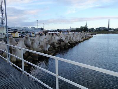 Docking in Old City Harbor