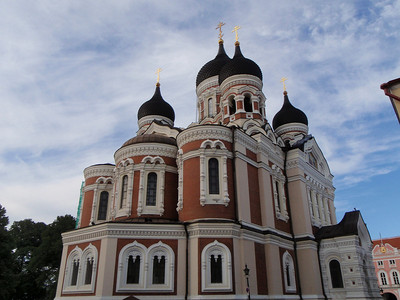 Alexander Nevsky Cathedral is an orthodox church