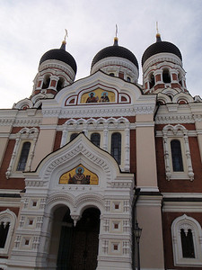 Alexander Nevsky Cathedral is Tallinn's largest and grandest cupola cathedral