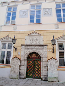 House of the Brotherhood of Black Heads is nearly the only preserved Renaissance building in Tallinn.