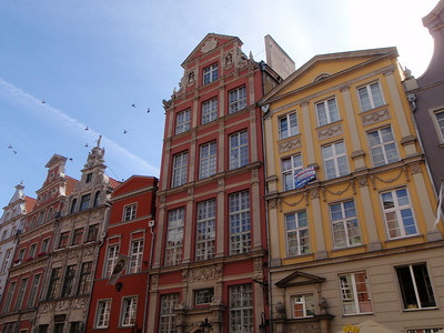 Along the streets of Gdansk