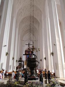 Inside St. Mary's Church
