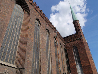 St Mary's Church - largest brick church in the world