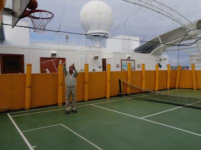 And basketball hoops!