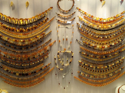 Amber jewelry!