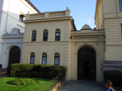 Side entrance to Royal Palace