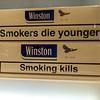 Cigarette cartons Stockholm airport