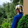 Guard with reflection Drottninghom castle