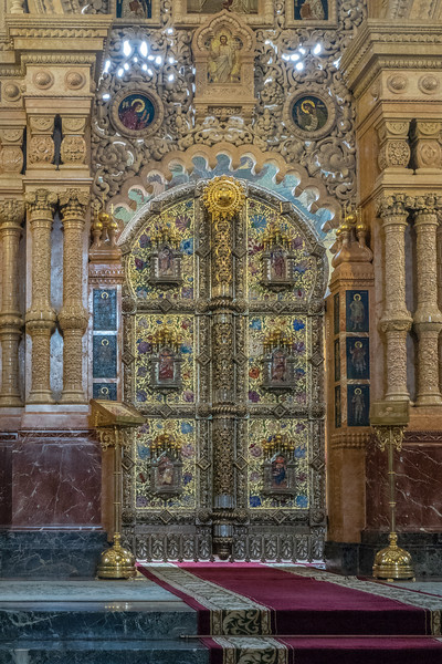 Church on Spilled Blood - Royal Doors in the Iconostsis