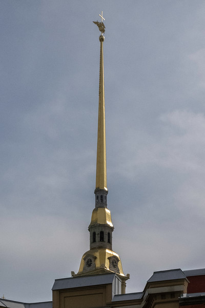 Spire of the Fortress Church (Cathedral of Saints Peter and Paul)