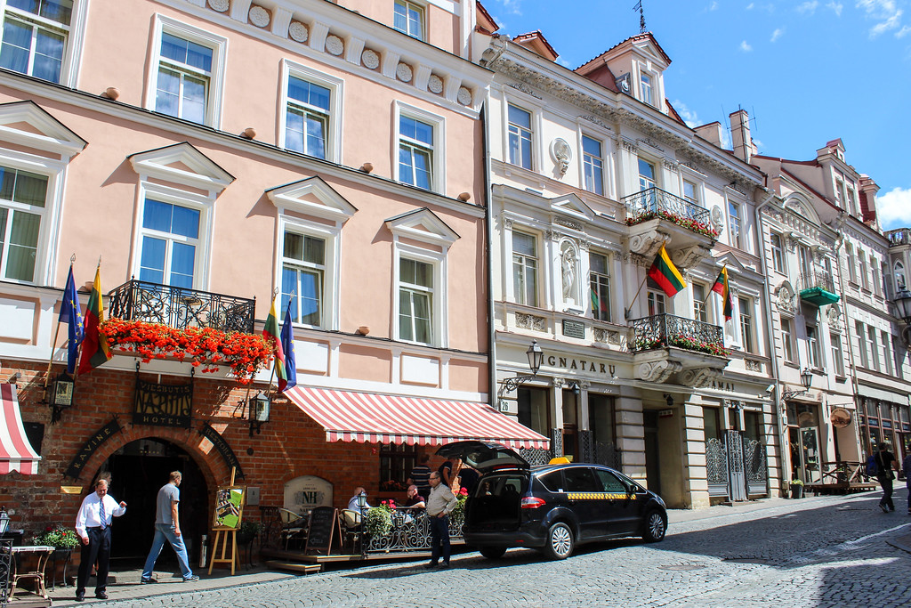 not sure what to do in vilnius? stroll through the old town