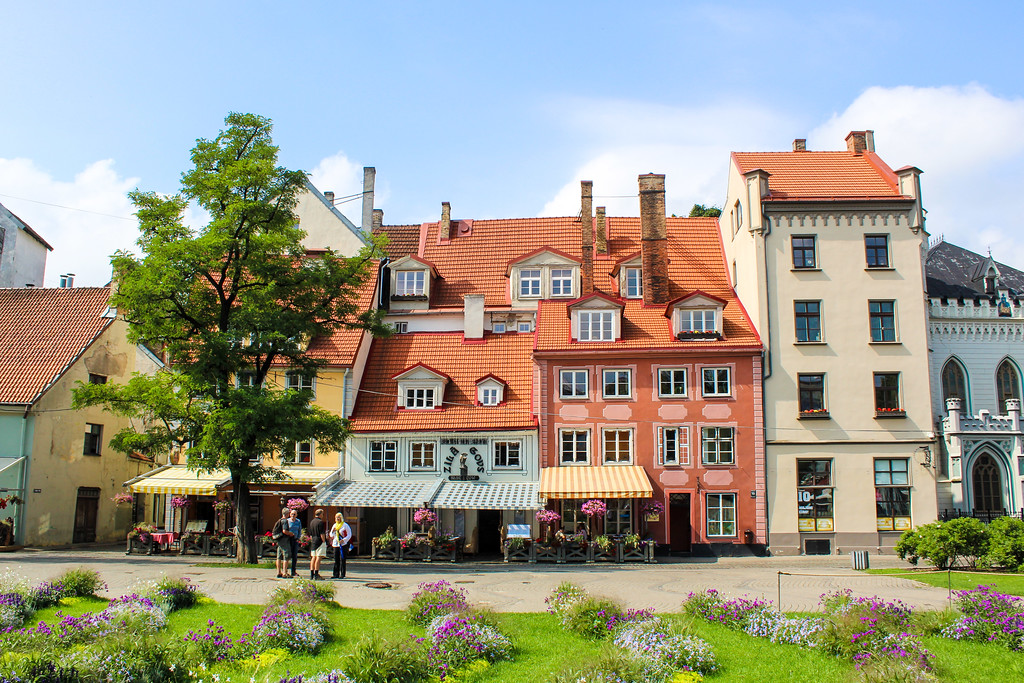travel to the baltics for the lovely old towns
