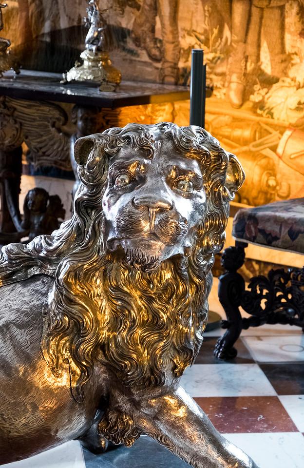 Lion  Rosenborg Castle