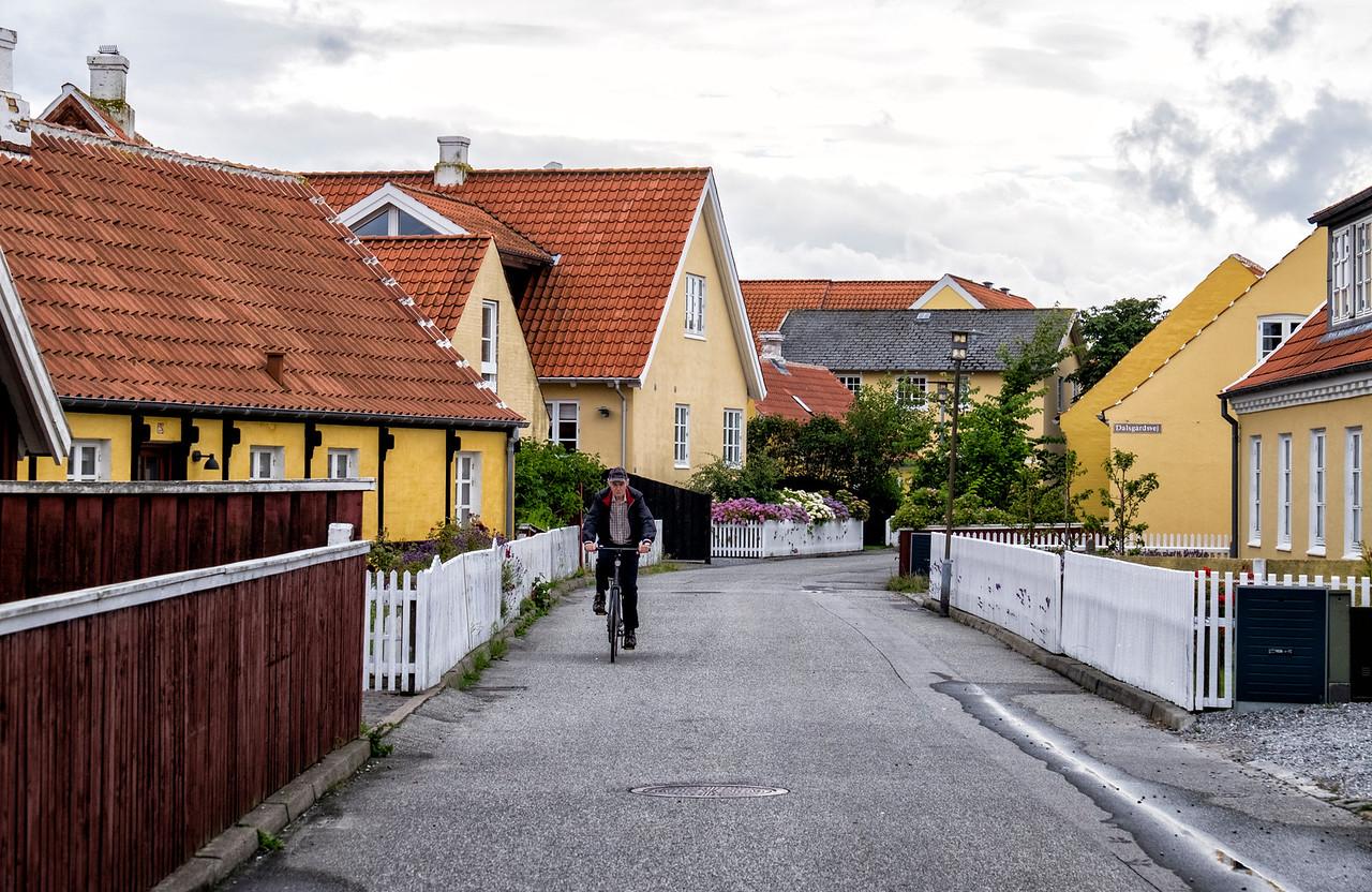Bicycle Rider Skagen