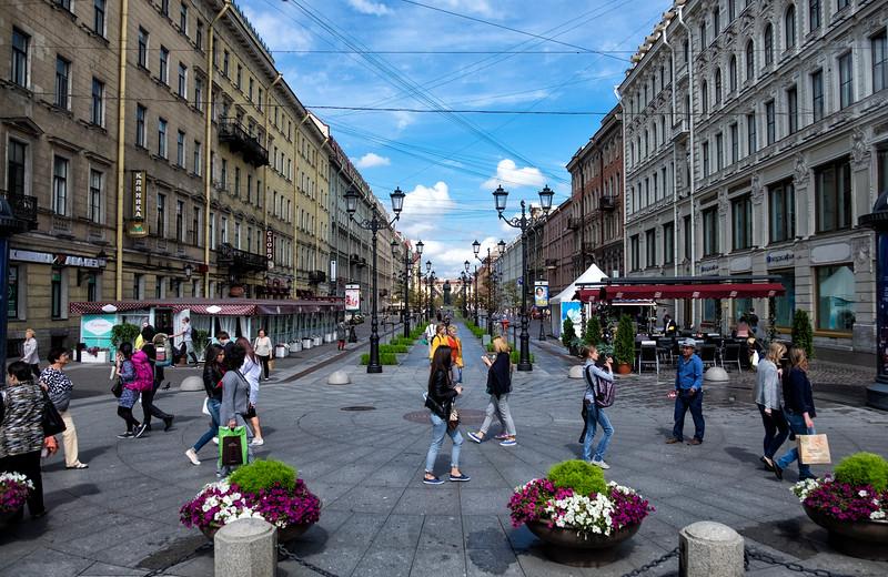 Street Scene St Petersburg