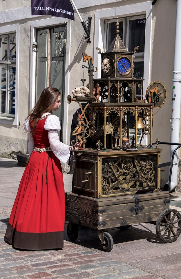 Street Vendor Tallinn