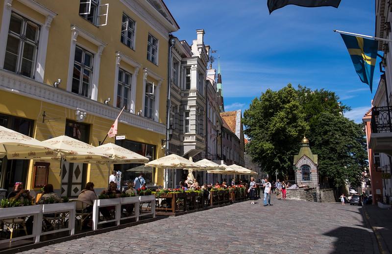 City Street Tallinn