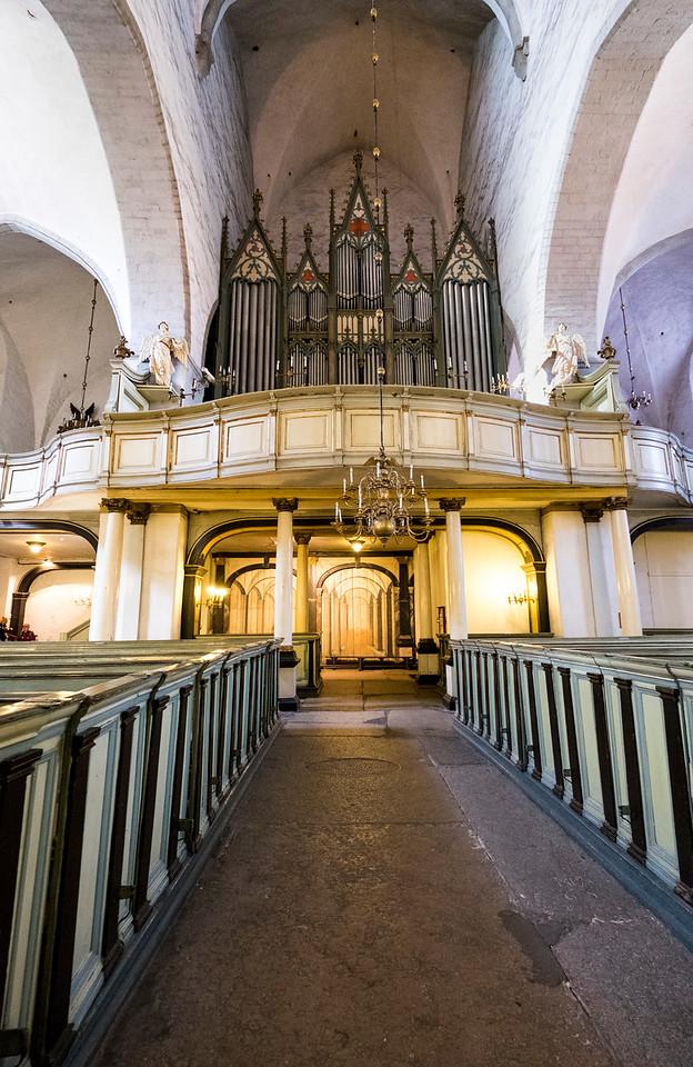 Toomkirik Church interior