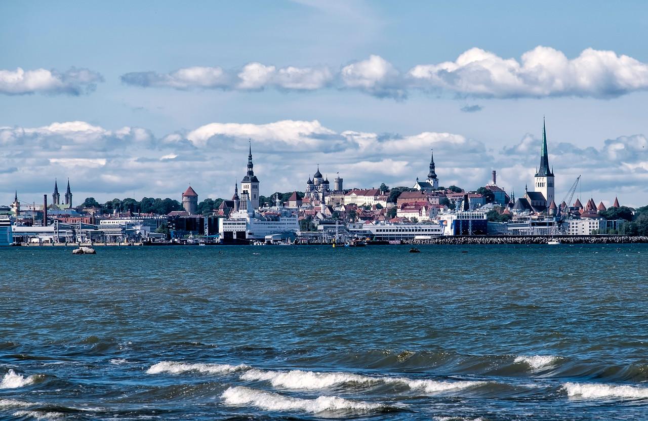 Tallinn Harbor View