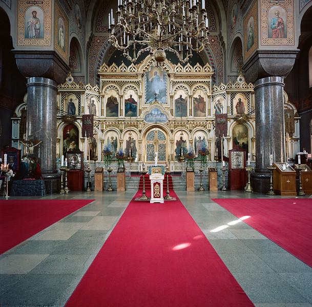 Interior Catholic Church, Helsinki