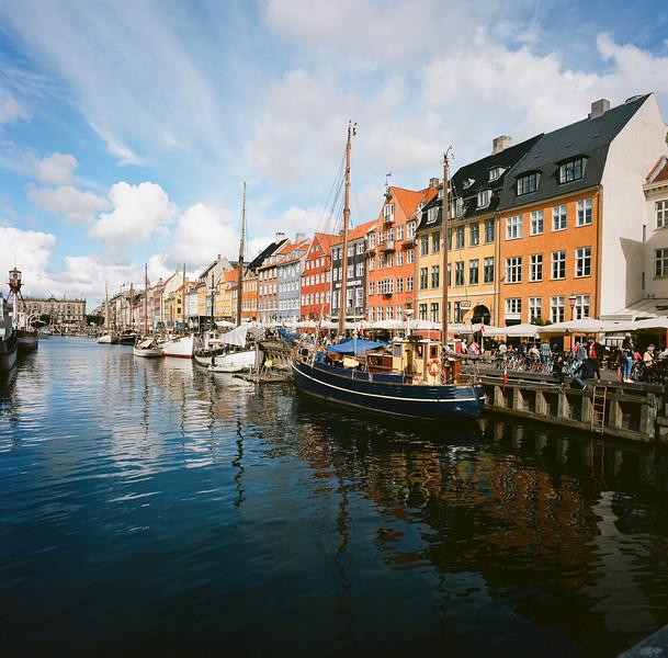 Copenhagen canal scene