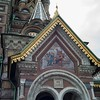 Detail of St. Petersburg church