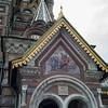 Detail of St. Petersburg church