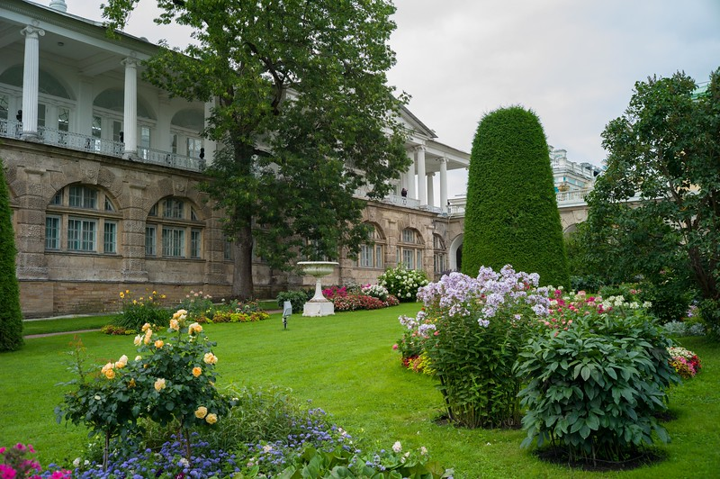 Exterior of servants quarters at Petershof