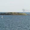 Windmills in Copenhagen harbor