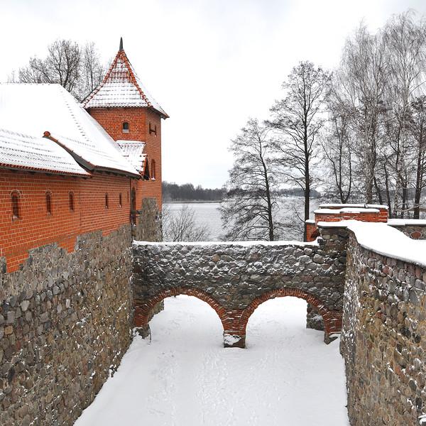 Trakai Island Castle. 2018.