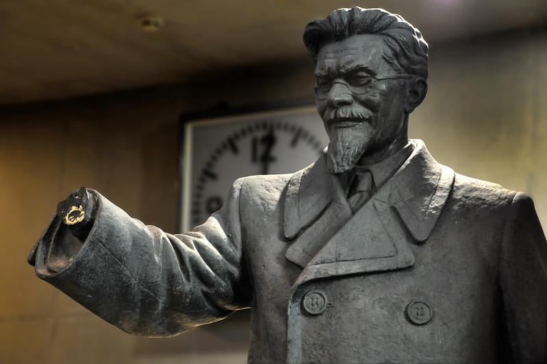 Statue of Mikhail Kalinin. 2010.