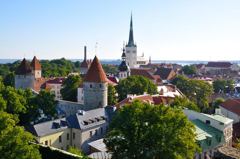 Tallinn Old Town. 2010.